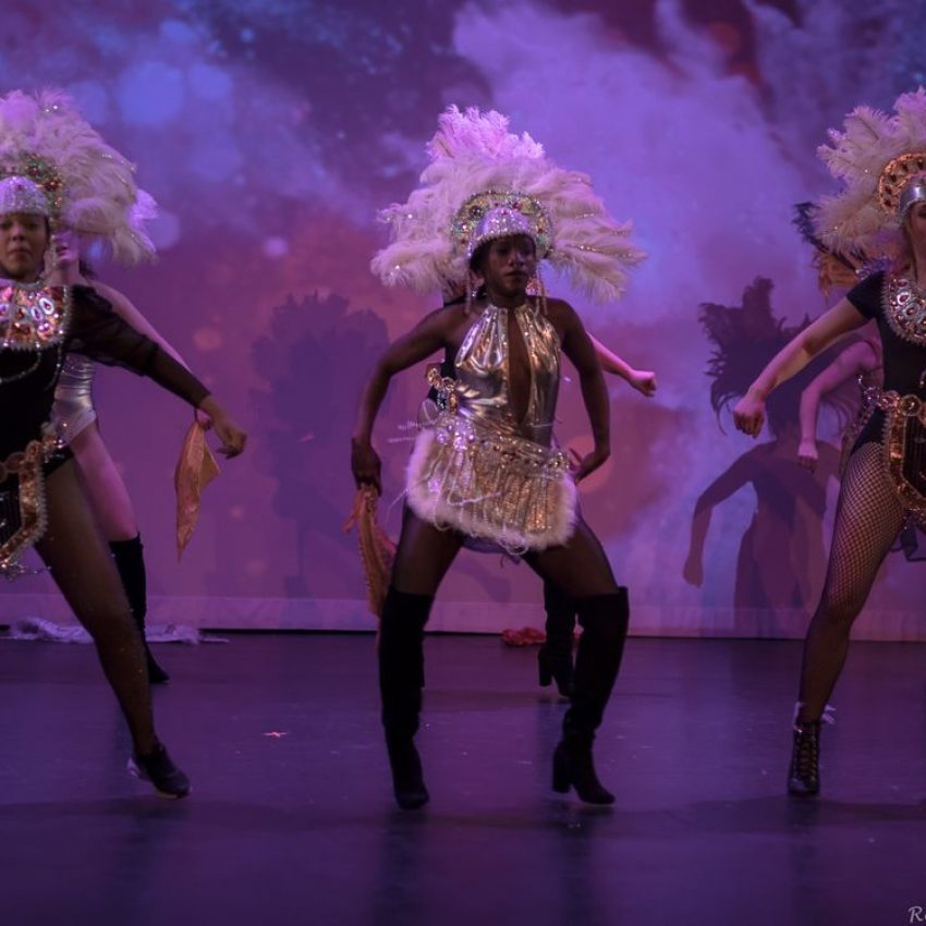 Unganisha is a multicultural dance show that is part of Black History Month.